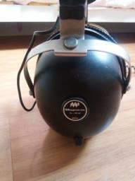 Fone de ouvido ótimo magnovoz ph-100 década de 70 funcionando perfeitamente