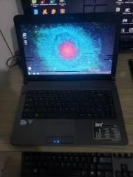 Notebook positivo 4 Gb de memória e HD de 500 processador dual core 2.3