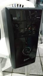 Gabinet Leadership Com DVD, fonte 450W, placa, memoria e processador.