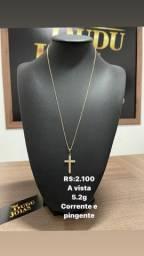 Jóias em Ouro 18k com certificado