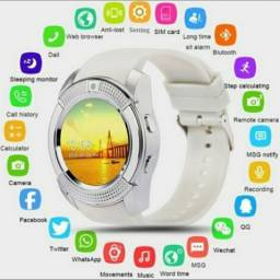 Relógio Inteligente Smart Watch tela de toque Smartwatch com slot para cartão sim