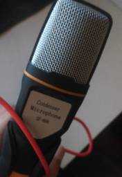 microfone usado poucas vezes sf666