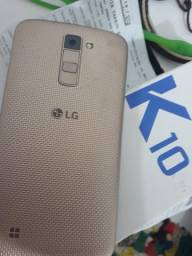 LG K10tv 16gigas