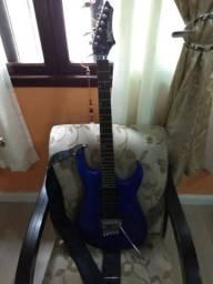 Guitarra washburn + caixa amplificada
