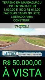 Loteamento em Mandaguaçu-Pr