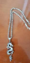 c8794a776cd Cordão e pingente de prata