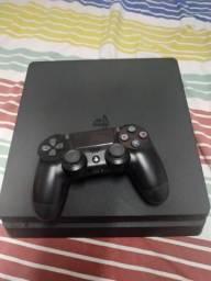 PS4 Slim 1TB + 2 jogos
