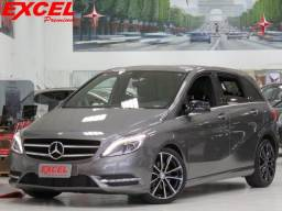 MERCEDES-BENZ B200 1.6 SPORT TURBO GASOLINA 4P AUT 2013 - 2013