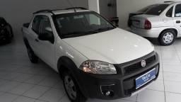 Fiat strada dupla 3 portas 2014 unico dono - 2014