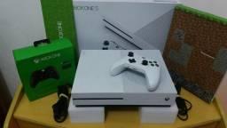 Xbox one s 1 tb.aceito seu game usado com forma de pagamento!