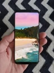 Galaxy S8 + Película Samsung + Case Spigen - Na Caixa