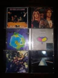 CDs Rock Clássicos e Progressivo