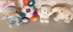 Lote 40 brinquedos pelúcia