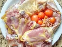 Prepresentante de galinha caipira