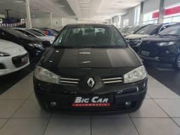 Renault Megane Sedan Sedan Dynamique Hi-Flex 1.6 16V Preta