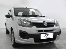 Fiat Uno Drive 1.0 Prata 2018 Completo