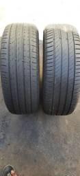 Vendo 2 pneus 205/55 R16 MICHELIN PIRELLI