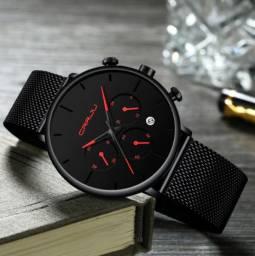 Relógio Masculino - Moda Casual e Fashion (Produto novo)