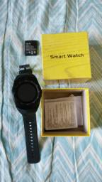 Relogio Smart Watch De Metal - Preto - Y1