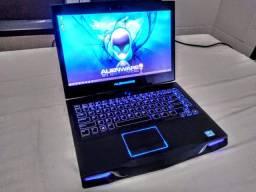 Notebook Gamer Alienware SSD + HD + Placa Dedicada !!!