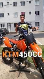 KTM EXC 450cc 2005