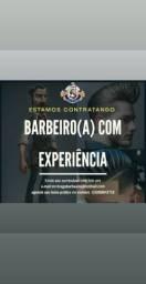 Vaga pra BARBEIRO(A) COM EXPERIÊNCIA! CAMPINAS-SP
