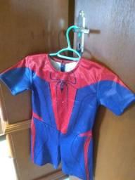 Fantasia Homem aranha tamanho 4