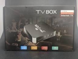 Tv Box MXO 8gb/64gb Smart Tv UHD 4k Wifi 5g - Lançamento