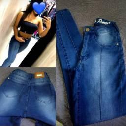 Calça jeans sal e Pimenta