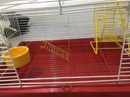 Gaiola de hamster (dois andares)