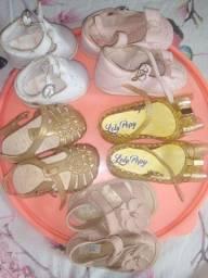 Sandálias seminovas usadas bem poucas vezes