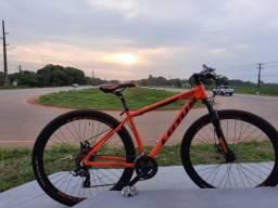 Bike aro 29 laranjada