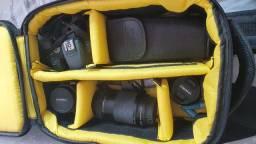 Vendo kit completo mais 3 lentes
