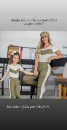 Kit conjunto mãe e filha