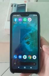 Xiaomi mi A2 lite 64GB, impecável com acessórios