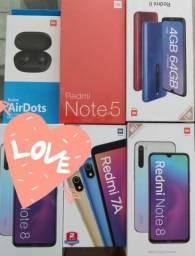 Love! REDMI Xiaomi. Novo lacrado com garantia e entrega imediata