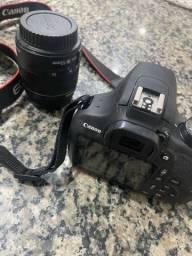 Câmera profissional Canon EOS Rebel T5
