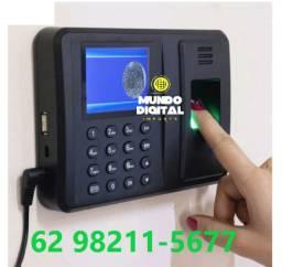 Relógio de Ponto Biométrico Até 600 Digitais Para controle interno