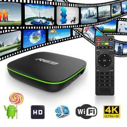 Receptor TV Box Smart R69 8K / Memória RAM 8GB / 64GB / Ultra HK / Android 9.0