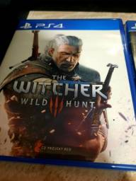 Vendo jogo the witcher 3 PS4