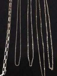 correntes de prata