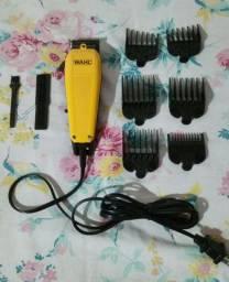 Máquina de corta cabelo da WAHL original com 6 pentes 150.00