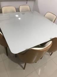 Mesa com 06 cadeiras top !