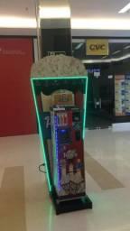 Vending Machine de Pipoca + Toten