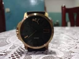 Relógio Puma Ultrasize - Preto e Bronze ( Usado )