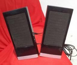 Caixa de som + Teclado + USB com 4 portas