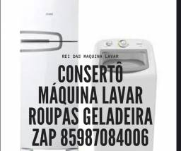 Consertô Geladeira máquina lavar Orcamento Grátis