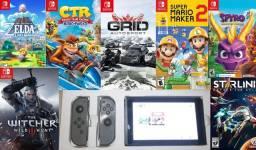 Nintendo Switch atmphre varios jogos a escolha parcelo loja