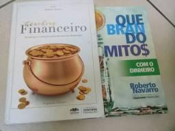 vendo 2 livros de finanças super barato