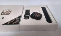 Iwo Max t500 relógio inteligente smartwatch faz e recebe chamadas